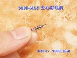 Wholesale Hollow Cup Motor - New and original 30PCS 408 rc hollow cup motor at a high speed Ultra-high speed 4 * 8 mm