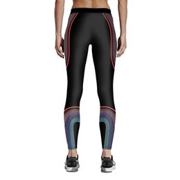 Wholesale Ladies Silver Trouser Pants - Womens Work Out Print Sports Fitness Yoga Pants Ladies Fashion Digital Printing Active Elastic Slim Bodycon Trousers Ankle-Length Pants 4XL