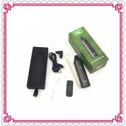 Wholesale Herbal Air - VAX AIR dry herb vaporizer herbal vape pen kit Portable 3000mAh Battery WAX mini Airzer elite pro TC e cigarettes Vapor Mod Kits