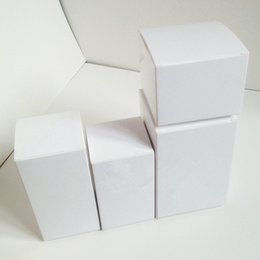 Wholesale Wholesale White Candle Boxes - Wholesale- White Paper Box for Christmas Party Favor Candy Gift Craft Candle Package Paperboard Boxes Free Shipping