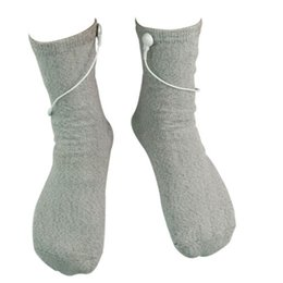 Wholesale Physical Therapy Pain - Physiotherapy Foot Massage Conductive Electrode Socks For Physical Therapy Massager Muscle Stimulation Feet Pain Relief