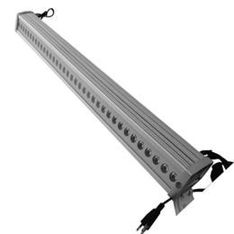 Barra de luz led de cor da parede on-line-O envio gratuito de Alta qualidade 24x3 W RGB 3in1 Tri LED Bar Luz, Tri cor 3in1 LED Wall Wash Bar Light