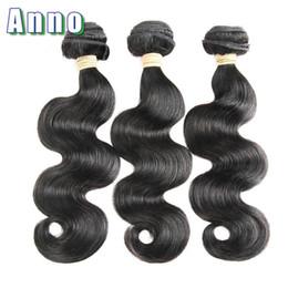 Wholesale Cheap Brizilian Hair - Anno Hair Brizilian Body Weave Cheap Brazilian Hair 3 Bundles Body Wave 7a Unprocessed Virgin Hair