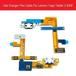 "Зарядное устройство lenovo таблетка онлайн-Wholesale- 100% Genuine USB Charger Connector Flex Cable For Lenovo Yoga tablet 2 830F 8.0"" USB Charging Flex Cable Blade2_8_USB_FPC_h301"