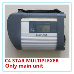 Wholesale Unit Stars - New MB Star Compact 4 main unit with wifi SD Connect C4 For MB Diagnostic Tool DHL Free Shipping