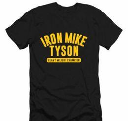 Wholesale Iron Mike - Men's Iron Mike Tyson Camp Printing T Shirt Round Neck Men T-shirt Men's Casual Dress Short Sleeve T-shirt