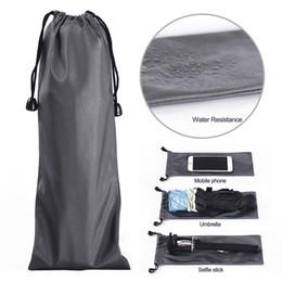 Wholesale Wholesale Umbrella Logo - Universal Waterproof Bag Case Cover Carry Pouch Pocket custom made Logo For iphone phone, Selfie Stick,umbrella, GPS, Glass, cellphone