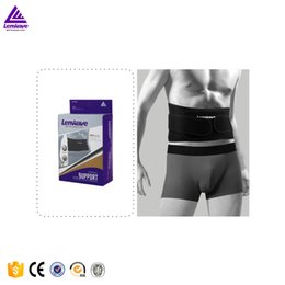 Wholesale Warming Waist Belt - Wholesale-waist warmer gym belt men waist support Far Infrared Fever Slimming Burn Fat Sauna Lenwave Brand Fitness Kidney Belt