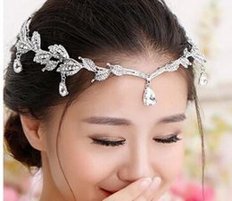 Wholesale Gold Tiaras Hair Accessories - Rhinestones Crystals Bridal Tiaras Crowns Wedding Bridal Tiaras Jewelry For Wedding Hairbands Hair Accessories Bridal Tiaras & Hair Wedding