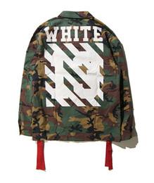 Wholesale New Cotton Camo Jacket - NEW coat kryptek camouflage camo army military jacket virgil abloh kanye west Camouflage Jacket