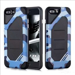 Wholesale Tpu Camouflage Iphone Cases - 2 In 1 Luxury Hybird Armor Case Defender Impact Camouflage PC+TPU Cover For Sumsung J3 J5 J7 2017 US J3 J5 J7 Pro J330 J530 J730 2017 EU