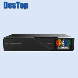 Wholesale Tv Tuner T2 - DVB-S2 C T2 Tuner dm 900 DM900 UHD 4K 2017 Newest Model E2 Linux TV Receiver 2160p PVR Satellite Receiver Tv Box 1pc