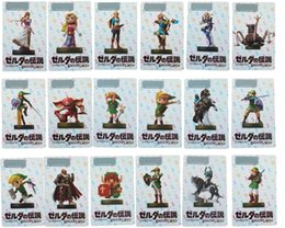 Wholesale Figure Big - Games Toys 22 pcs.   Set. Card NFC tag card Breath Wild 20 heart wolf link Fierce deity figures gifts