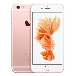 Wholesale Pink Fingerprint - Unlocked Original Apple iPhone 6S IOS11 2GB RAM 16 64 128GB ROM Dual Core 4.7'' 12.0MP Camera A9 4G LTE cell phone iphone6s with Fingerprint