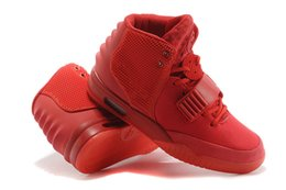 Wholesale Pvc Solar - Kanye west Air 2 Red October Black Solar Red Athletic Basketball Shoes kanye west 2 Trendy shoes sneakers man and woman basketball shoes
