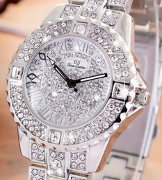 Wholesale Oval Watches For Women - 2017 Fashion Diamond Quartz Watch for Women Fashion Jewelry Gifts wristwatch watches ladies crystal watch