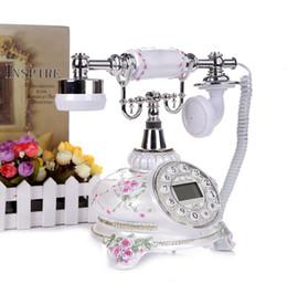 Wholesale Vintage Rotary Dial Telephones - new type Europeancreative copy of antique telephone European rural vintage rotary rotary dial
