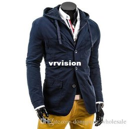 Wholesale Mens Vintage Wool Coat - 2017 Fashion Brand Winter Mens Jackets And Coats Mens Double Breasted Stylish Pea Coats Men Wool Coat High Quality Trench Coat