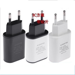 Wholesale Eu Usb Wall Charger Iphone5 - Wholesale-New Top Quality EU Plug 5V 2A USB Charger Speed Wall Charger adapter for iPhone5 6 plus Samsung HTC ,obile phones