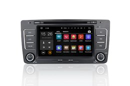 Wholesale Dvd Octavia - Android 6.0 Quad-Core 1.6GHz Car DVD For Skoda Octavia   Yeti With Radio GPS Navigation ,wifi,4G LTE,BT,canbus,radio,RDS