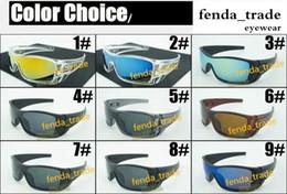 Precio de descuento MOQ = 10pcs Gafas de sol CALIENTES Hombres Bat gafas de sol rectangulares lobo Nuevas gafas de sol de moda Tiempo limitado para mrn Esporas Moda desde fabricantes
