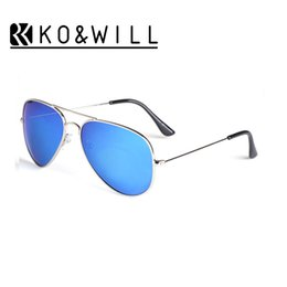 Wholesale Coat Colorful Men - 10 pcs lot Wholesale Classic Fashion Polarized Sunglasses Men Women Colorful Reflective Coating Lens Eyewear Accessories Sun Glasses