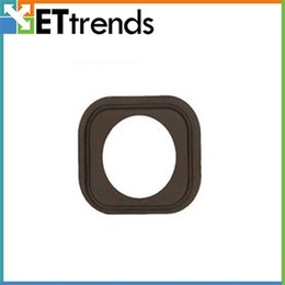 Wholesale Home Button Gasket - Original New Home Button Rubber Gasket for iPhone 5 5C Replacement Repair Parts free shipping by DHL