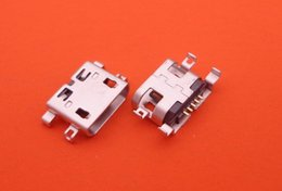 Wholesale Micro Usb Plug Connector - 50pcs For Alcatel One Touch C7 Dual 7041D 7040 7041 OT7040 OT7041 micro usb charge charging connector plug charger dock socket port