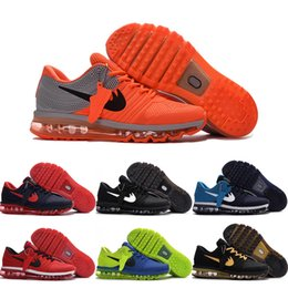 Wholesale Air Drop - Drop Shipping Wholesale Running Shoes Men Air Cushion 2017 Plastic Sneakers Boots Authentic 2016 New Outdoor Sports Shoes Size 40-47