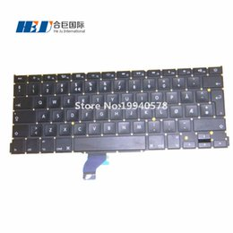 """Wholesale Ma Year - 100% NEW Norwegian Keyboard For Ma cbook Pro retina 13.3"""" A1502 without backlight 2013 year Wholesales MOQ:5pcs"""