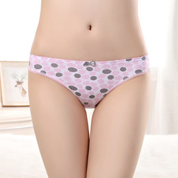 Wholesale Young Hot Panties - Yun Meng Ni Underwear Hot Selling Breathable Cotton Briefs Fashion Special Printing Young Girls Briefs Intimates Gilrs Panties