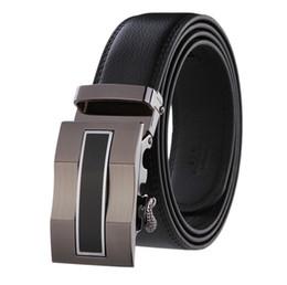 Argentina La alta calidad de la hebilla automática de la correa para hombre de lujo Cinturones de diseño para hombres y cinturones de correas de las mujeres de negocios mc para los hombres Suministro