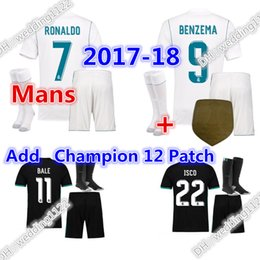 Wholesale prices men socks Real Madrid soccer Jerseys RONALDO SERGIO RAMOS JAMES BALE RAMOS ISCO MODRIC Spain football shirts