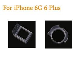 Wholesale Camera Rings - For iPhone 5 5C 5S SE 6 6S 7 Plus Front Camera Plastic Holder Clip Ring Proximity Light Sensor Bracket Holder