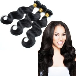 Wholesale Goddess Remy Hair - 7A virgin brazillian hair Body Wave goddess hair weave wholesale 3pcs Lot Natural Color Dyeable Unprocessed human Hair Free Shipping