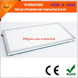 Wholesale Wholesale Drop Ceiling Lighting - 36w 72w 600 600 drop ceiling light panel side light panel led suspended super slim led flat ceiling panel