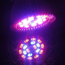 Wholesale Grow Lights Rgb - E27 GU10 E14 Diammable bulb light 8W SMD 5730 LED Grow Light Hydroponic Plant Full Spectrum Lamp with 18 LEDs