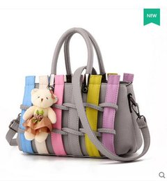 Wholesale Pocket Listings - 2016 Black Special Offer Bags Pink Grey New Fashion Handbags Edition Tide Bag Lady Handbag Satchel All-match Woven Bag. Colorful listing.
