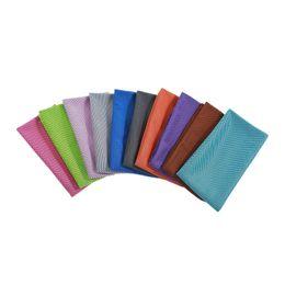 Double couche Ice Cold Towel Cooling Summer Anti Sunstroke Sports Exercice Cool Quick Dry Doux Respirant Serviette De Refroidissement 30 * 90CM ? partir de fabricateur
