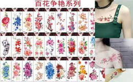 Wholesale 3d Body Art Stickers - 600 designs body art 3D tattoo stickers 2017 for men and women waterproof safe stickers factory price