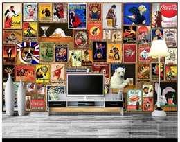 Wholesale Chinese 3d Posters - 3D photo wallpaper custom wall murals wallpaper mural European poster photo wall tv backdrop wallpaper living room wall decoration