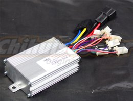 Wholesale Electric Scooter Dc Motor - Wholesale-800W 36V Brushed DC Motor Controller for 500W 800W 36V Electric Scooter with 9 Plastic Plugins ( Scooter Controller)