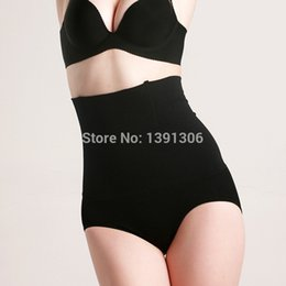 body thigh slim Promo Codes - Wholesale- New Women's Tummy Control Under bust Slimming High Waist Thigh Hip Shaper Body Shapewear Body Figure Shaper shaping pants FY103
