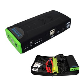 Wholesale 12v Rechargeable - 38000mAh Multi-Function Mini Jump Starter Car Battery Charger Portable Phone Power Bank Laptop cellphone External Rechargeable Battery pack