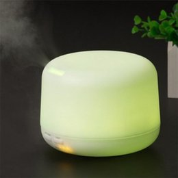 Wholesale Hotel Beauty - New USB Portable Mini Water Humidifier Air Essential Oil Diffuser Aroma Mist Maker Blue Home Office Hotel Ultrasonic Humidifier Beauty