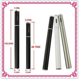 Wholesale New T2 - 0.25ml 0.5ml Hemp Oil BBTANK O.Pen Vape Pen New BUD Vaporizer BB TANK T1 T2 Thick Oil Vaporizer Pen