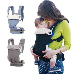 Wholesale Toddler Slings Carriers - Baby Carrier Multifunction Breathable Infant Carrier Backpack kids Carriage Sling Toddler Wrap Suspenders C2603