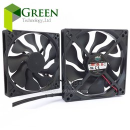 Wholesale Cool Cases For Laptop - Cooler Master 10015 100MM 10cm 100*100*15mm cooling fan 5V 0.2A Silent fan with Fan Guard USB connector For laptop