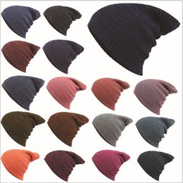 Wholesale Sports Beanies For Sale Cheap - Quality Classic Cheap Knit Plain Rib Beanie Winter For Adults Man Woman Slouchy Head Warmer Mens Womens Skull Sports Fashion Snow Cap Sale