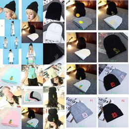 Wholesale Nice Hats For Men - 2017 Wholesale Fashion Beanie hat Spring Fall Winter nice knitted hat Men and Women ski cap Skull Hip-Hop Cap Many colors for choose